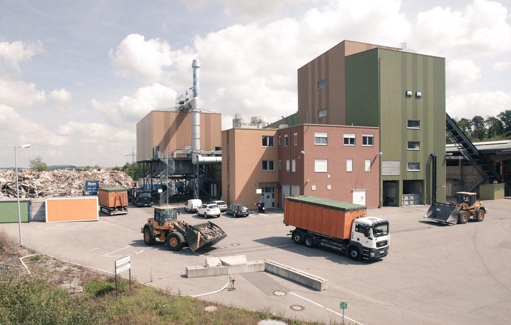 Neues Biomasseheizkraftwerk